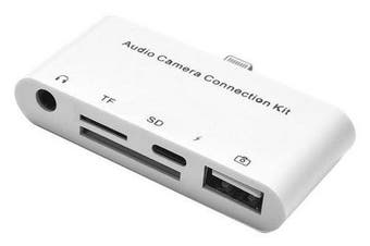 Audio Camera Connection Kit Lightning to USB Headphone