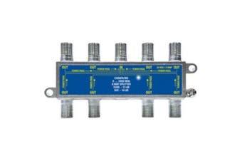 8 Way f-Type Splitter 5-2400MHz Jonsa Foxtel Approved F30988