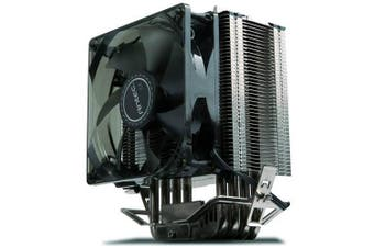 Antec Air CPU Cooler 92mm PWM Blue LED Fan 77CFM 3 Years Warranty
