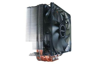 Antec C400 Air CPU Cooler 120mm PWM Blue LED 77 CFM 3 Years Warranty