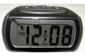 XTIME LCD Alaram Clock Blue Night Light 4 minute Snooze Function