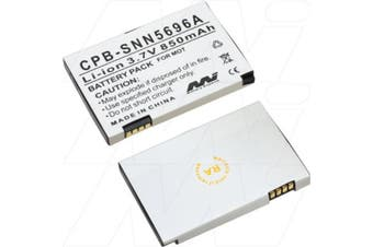 Mobile Phone Battery	 Nominal Capacity 850mAh