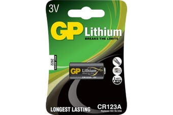 GP 3V Lithium Battery Built in safety mechanism suitable cameras & flashlights