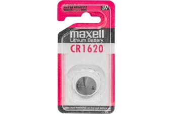 Maxell 3V 80MAH Lithium Button Cell Battery For Remote Controls Calculators