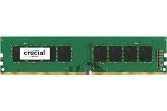 Crucial 16GB DDR3L UDIMM 1600MHz CL11 1.35V Dual Rank Single Stick PC Memory RAM