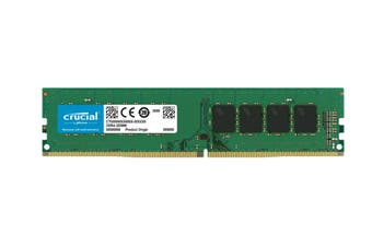 Crucial 32GB DDR4 UDIMM 2666MHz CL19 1.2V Dual Ranked Desktop PC Memory RAM