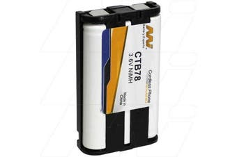 Panasonic 3.6V NMh Cordless Telephone Battery