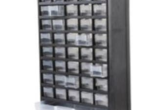 DURATOOL 41 Compartment Parts Storage Cabinet Wall & Desk Mount