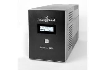 PowerShield Defender 1200VA 720W Line Interactive UPS with AVR