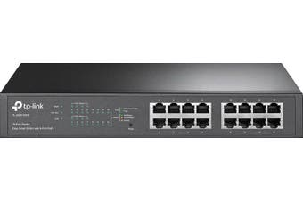 TL-SG1016PEP 16 Port Gigabit PoE Switch Supports PoE power up to 110W for all PoE ports