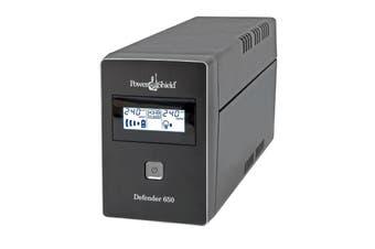 PowerShield Defender 650VA   390W Line Interactive UPS with AVR