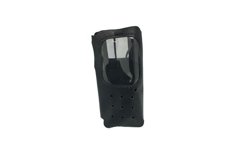 Black Leatherette Pouch for Digitech 5W CB Radios Suit DC-1065 and DC-1096