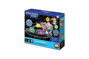 Discovery Kids Crystal Wonder kit Set basic science chemistry and arts & crafts