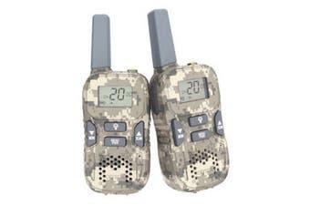 Crystal Handheld UHF CB Radio 0.5w - Rechargeable