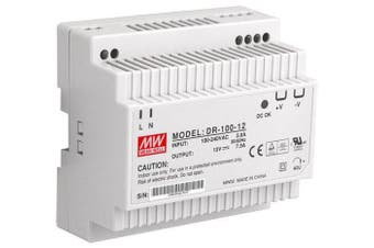 100-240VAC Single Output Industrial Din Rail Power Supply LED Indicator