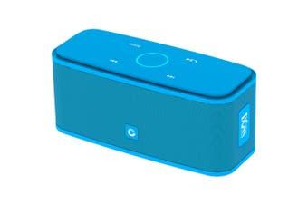 Soundbox Bluetooth Speaker Touch BT4.0 HD Portable Blue