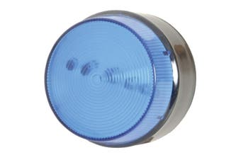 LED Strobe Blue suitable for outdoor alarm applications