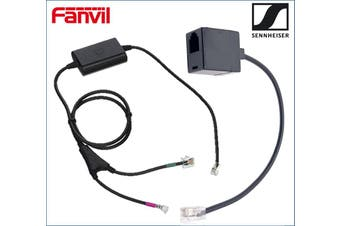 Fanvil Sennheiser Electronic Hook Switch Adapter Inc T-03  RJ9 Connector Cable