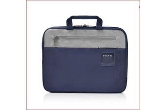 Everki ContemPRO Laptop Sleeve w/ Memory Foam, 13.3-Inch - Navy