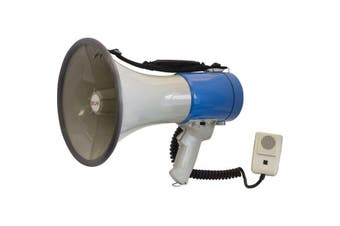 Doss 25Watts Megaphone with Shoulder Strap Built in Siren