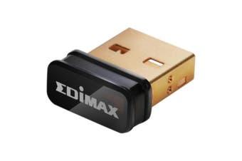 Edimax N150 Nano Wireless USB Adapter LAN 802.11bgn 2.4Ghz150Mbps for Laptop EW-7811UN