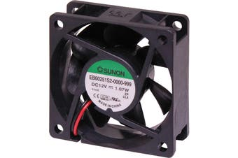 SUNON 12VDC Sleeve Bearing Cooling Fan