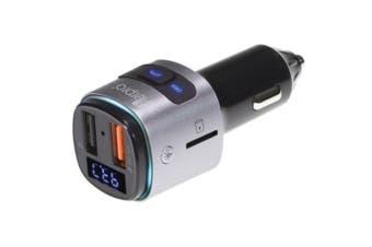 Aerpro 2 In 1 Bluetooth Fm USB Car Charger 12V o 24V socket Black or silver