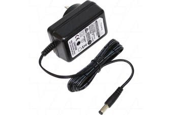 100-240VAC Input Wall Mount LiFePO4 2 Cell 7.3V Charger Output 2A + 2.1mm DC Plug