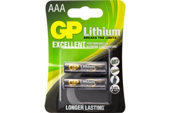 1.5V AAA Lithium Fro3 Pack -2 GP