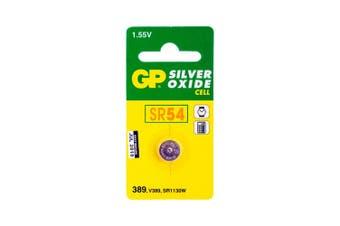 GP Sr54 Button Cell Silver Oxide 389  PK1