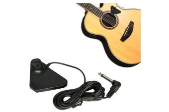 Guitar Pickup Acoustic Open sound hole to allow amplification 6.5mm With Volume