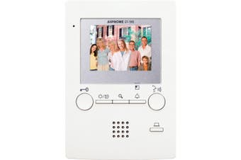 Aiphone 3.5inch Colour LCD Video Station 4 Wire Handsfree Door Release Button