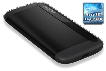 Crucial X8 1TB External Portable SSD 1050MB Slim Durable Rugged Shock Proof