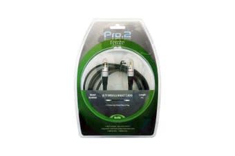 PRO2 3.5mm Plug Stereo Lead 2m Audiophile Ferrite Emi Protect