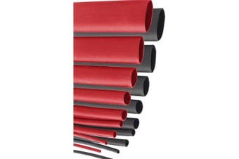 Prolink Heat Shrink Kits Red and Black 18 Piece Bag Consist of 1.2 Metre long polyethylene heat tube