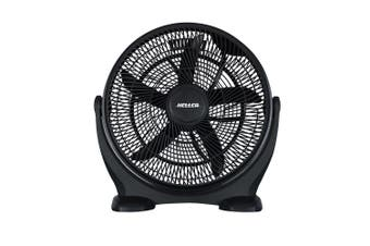 Heller 50cm Floor Desk High Velocity Air Cooler Fan Cooling Circulator-Black