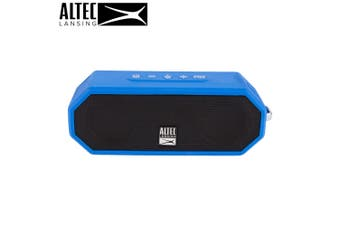 Altec Lansing Jacket H20 4 Blue - EVERYTHING PROOF Rugged & waterproof Bluetooth speaker