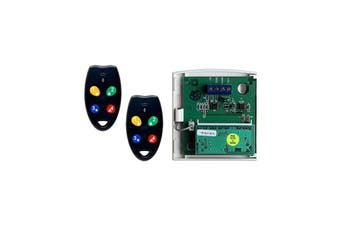 NESS RK4 Radio Key & Radio Interface Kit provideswireless Arming