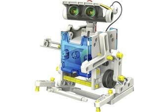 14 In 1 Solar Robotics Challenge Kids Educational Solar Power Eelectronics Kit