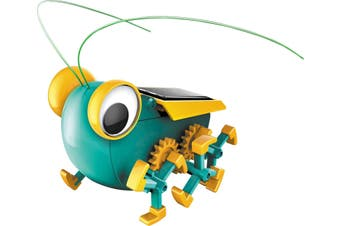 Solar Powered Bug Kit t features 51 parts and is an idea school science project
