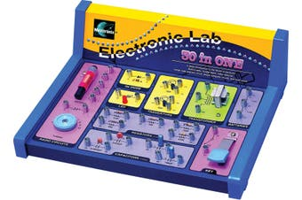 Maxitronix 30 In 1 Electronics Lab Kit for children aged 8 and over