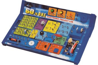 Maxitronix 60 In 1 Electronics Lab Kit teach kids about the fundamentals of electronics