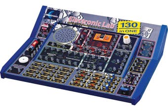 Maxitronix 130 in 1 Electronics Lab Kit Aged 10over BasicFun Electronic Circuits