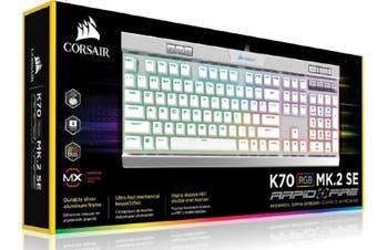 Corsair K70 MK.2 MX Speed RGB Backlit RGB LED Mechanical Keyboard