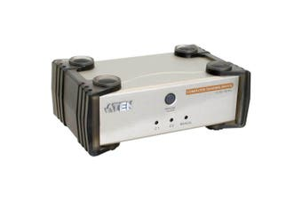 Aten 2 Port Computer Sharing Device 1 VGA USB KVM Cable Included