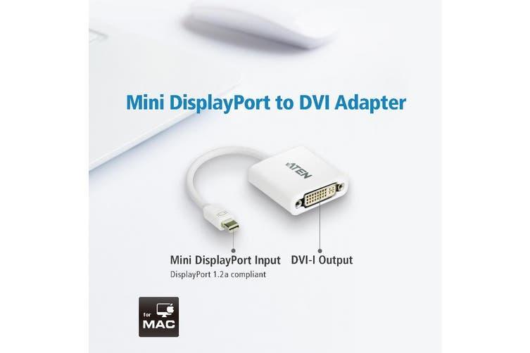 Aten VanCryst Mini DisplayPort to DVI Adapter