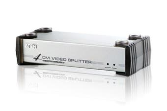 Aten 2 Port True 4K Compact Splitter USB Powered Auto Downscaling HDCP 2.2