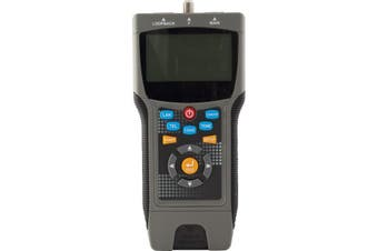 PRO COAX & LAN cable tester locates distance to the fault LCT8