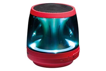 LG PH1R Bluetooth Speaker Red LED Mood Lighting Aux In Built In Micphone