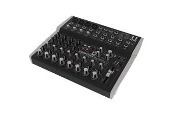 Hill Audio Stage Mixer 4 Mono & Stereo Inputs 3 Band-EQ  AUX TriCore DSP Effect
